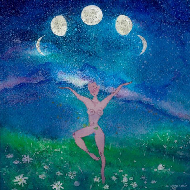 A Mulher e a Lua Portal Conexão Ventre-Coração